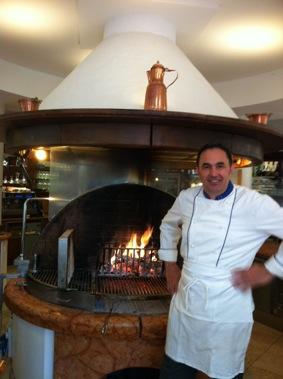 Lo chef Dario Righele - Ristorante L'Osterietta