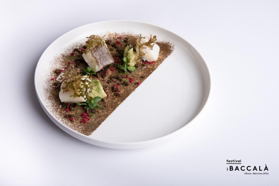 Belluno_Baccalà nell'habitat dolomitico_Chef Luigi Dariz_Ristorante Da Aurelio