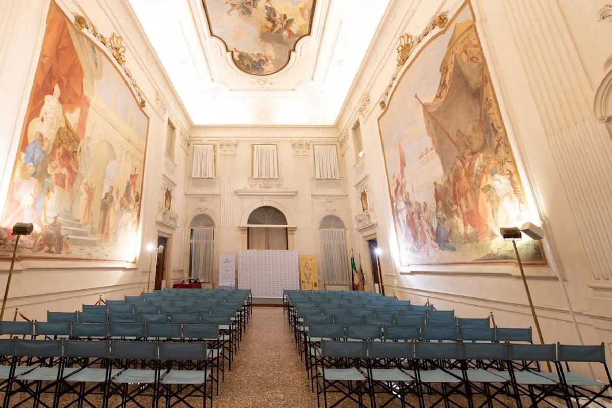 Interni Villa Cordellina a Montecchio Maggiore
